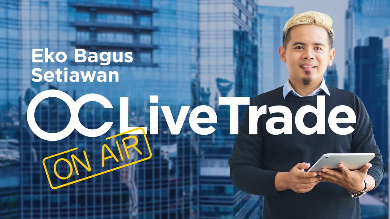 [BAHASA INDONESIA] Live trading session - 21.01 with Eko Bagus Setiawan   Forex Trading
