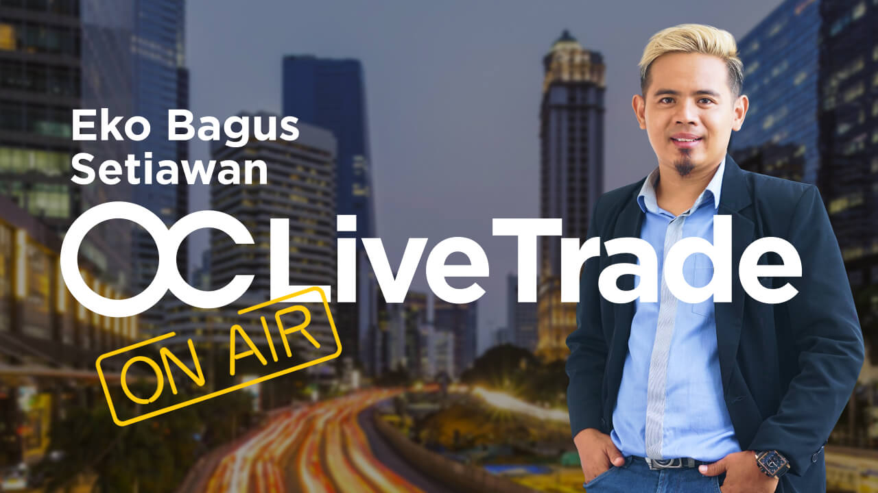 [BAHASA INDONESIA] Live trading session - 28.01 with Eko Bagus Setiawan   Forex Trading